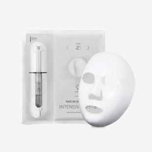 THE OOZOO フェイスインショットマスク インテンシブホワイト マスク27ml+アンプル2.8ml の画像 1