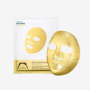 THE OOZOO フェイスゴールドフォイレイヤーマスク 25ml の画像 1