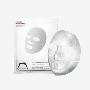 THE OOZOO フェイスシルバーフォイレイヤーマスク 25ml の画像 1