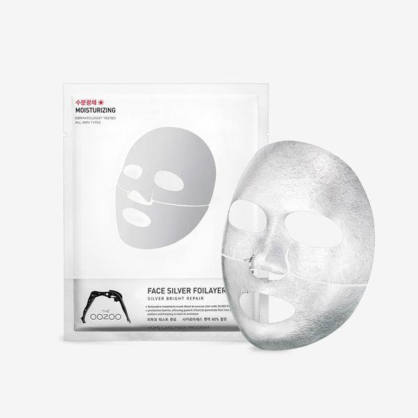 THE OOZOOのフェイスシルバーフォイレイヤーマスク 25mlに関する画像2