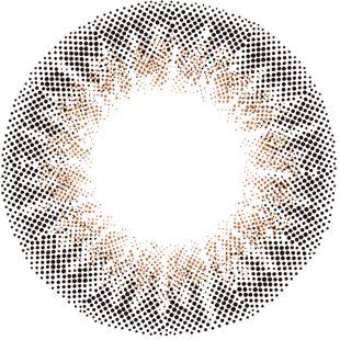 フェリアモ フェリアモ ワンデー 10枚/箱(度なし)セット チュールブラウン の画像 2