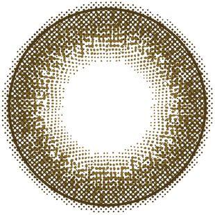 フェリアモ フェリアモ ワンデー 10枚/箱(度なし)セット チェスナット の画像 2