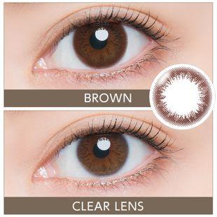 アーティラル アーティラル UV&モイスト ワンデー 10枚/箱 (度なし) ブラウン の画像 2