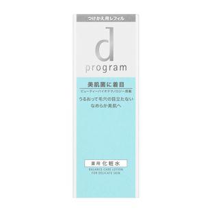 d プログラム バランスケア ローション MB 【レフィルのみ】 <医薬部外品> 125ml の画像 1