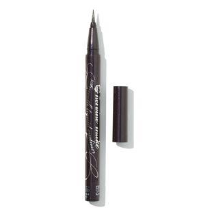 ヒロインメイク スムースリキッドアイライナー スーパーキープ 01   漆黒ブラック 0.4ml の画像 3