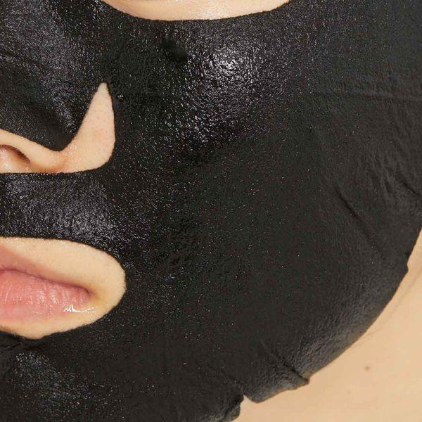 オルフェスのアクアモイスチャーシートマスク ディープブラック 1枚入りに関する画像2