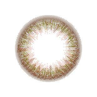 ルミア ルミア ワンデー 10枚/箱 (度なし) シフォンオリーブ の画像 1