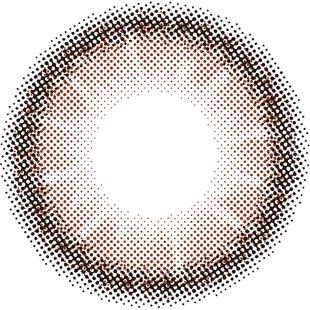 トパーズ 指原莉乃プロデュースカラコン トパーズ ワンデー 10枚/箱 (度なし) no.7 パールキャッツアイ の画像 2