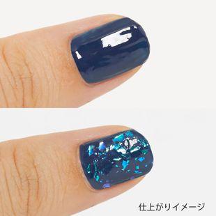 ちふれ ネイル エナメル 15 透明ラメ の画像 2