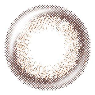 ティアリーアイズ ティアリーアイズ 1日使い捨て 10枚/箱 (度なし) シアーブラウン の画像 1