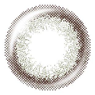 ティアリーアイズ ティアリーアイズ 1日使い捨て 10枚/箱 (度なし)   シアーオリーブ の画像 1