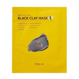 バルラボ ブラック クレイ マスク 18g×5枚 の画像 1