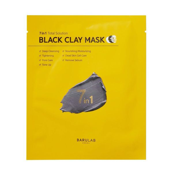 バルラボのブラック クレイ マスク 18g×5枚に関する画像2