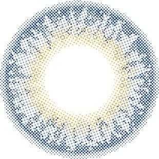 トパーズ 指原莉乃プロデュースカラコン トパーズ ワンデー 10枚/箱 (度なし) no.6 ラピスラズリ の画像 3
