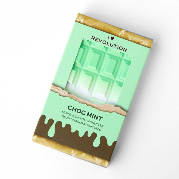 メイクアップレボリューションのアイラブレボリューション ミニチョコレート チョコミント 10gに関する画像2