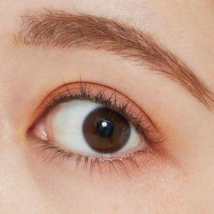 セザンヌ シングルカラーアイシャドウ 06 オレンジブラウン 1g の画像 2