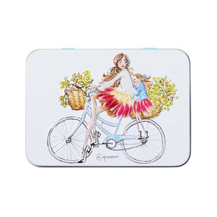 HEATHCOTE&IVORY SomeFlowerGirls ハンドクリーム TIN Bicycle Ride 50ml+10ml の画像 3