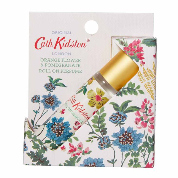 キャス・キッドソンのロールオンパフュームジェル オレンジフラワー&ザクロの香り トワイライトガーデン 10mlに関する画像 2