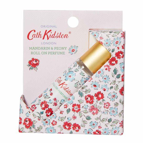 キャス・キッドソンのロールオンパフュームジェル マンダリン&ピオニーの香り ドゥルウィッチディッツィ 10mlに関する画像2