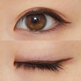 MEIQUE 目もとがRAKUDA アイライナー 鮮麗ブラウン 0.5ml の画像 1