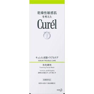 キュレル キュレル 皮脂トラブルケア 泡洗顔料 <医薬部外品> 150ml の画像 1