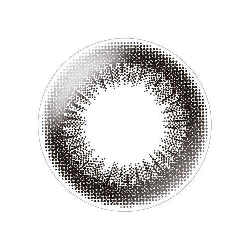 デコラティブアイズのデコラティブアイズ ヴェール ワンデー 10枚/箱(度なし) ダークミストに関する画像2