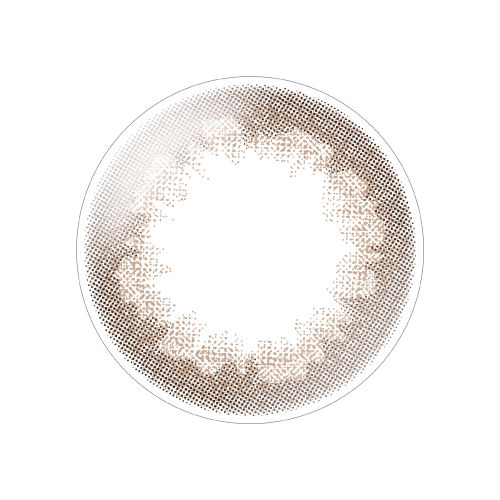 デコラティブアイズのデコラティブアイズ ヴェール ワンデー 10枚/箱(度なし) コーラルブルームに関する画像2