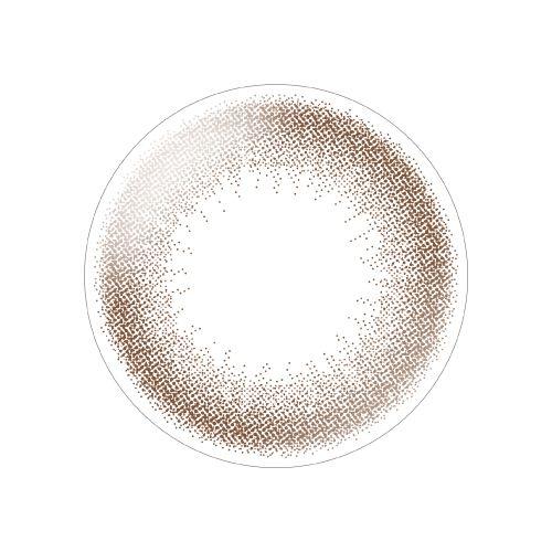 デコラティブアイズ ヴェールのデコラティブアイズ ヴェール ワンデー 10枚/箱 (度なし) アーモンドベージュに関する画像2