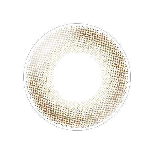 デコラティブアイズ ヴェールのデコラティブアイズ ヴェール ワンデー 10枚/箱 (度なし) ベイビーメープルに関する画像2