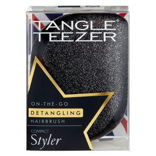 タングルティーザー コンパクトスタイラー ブラックグリッター の画像 3