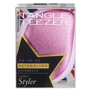 タングルティーザー コンパクトスタイラー ピンクグリッター の画像 3