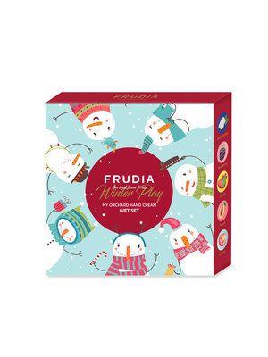 FRUDIAのマイオーチャードハンドクリームギフトセット ウィンタープレイ 5本に関する画像2