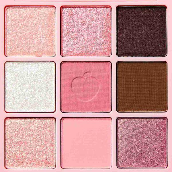 Peach Cのアイシャドウパレット ブロッサムエディション #シャインピンク 10gに関する画像 2