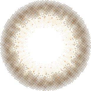 フランミー フランミー ワンデー 30枚/箱(度なし) シェルコーラルグレージュ の画像 1