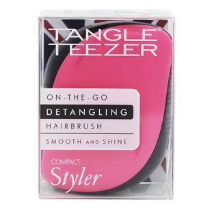 タングルティーザー コンパクトスタイラー ピンク&ブラック 86g の画像 3