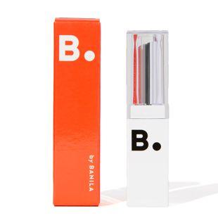 B by banila リップドロウメルティングセラム リップスティック SRD01 ガンレッド 4.2g の画像 1