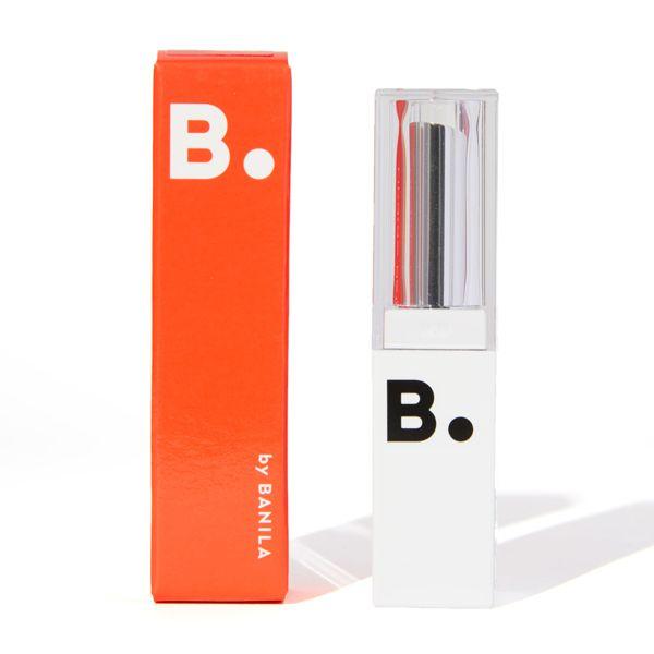 B by banilaのリップドロウメルティングセラム リップスティック SRD04 ピンアップレッド 4.2gに関する画像2
