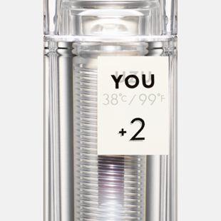 UZU BY FLOWFUSHI 38℃/99℉ リップスティック <YOU> +2 スモーキーレッド 3.8g の画像 3