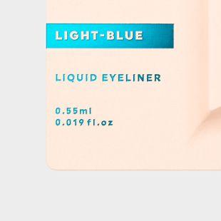 UZU BY FLOWFUSHI アイオープニングライナー ライトブルー 0.55ml の画像 2