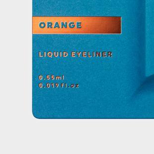 UZU BY FLOWFUSHI アイオープニングライナー オレンジ 0.55ml の画像 2