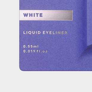 UZU BY FLOWFUSHI アイオープニングライナー ホワイト 0.55ml の画像 2