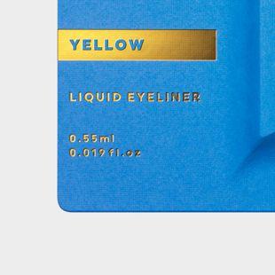UZU BY FLOWFUSHI アイオープニングライナー イエロー 0.55ml の画像 3