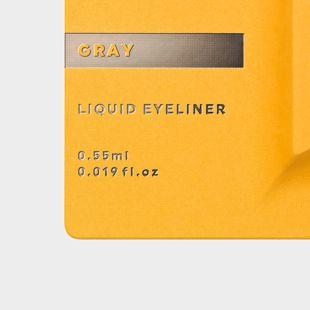 UZU BY FLOWFUSHI アイオープニングライナー グレー 0.55ml の画像 2
