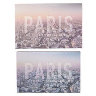 FOCALLURE GO TRAVEL 15色アイシャドウパレット ♯01 パリ の画像 3