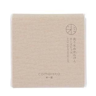 米一途 洗う米ぬか石けん ローズヒップ 85g の画像 3