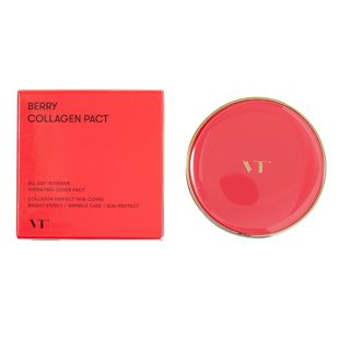 VT cosmetics ベリーコラーゲンパクト 21 号 11g SPF50+ PA++++ の画像 2