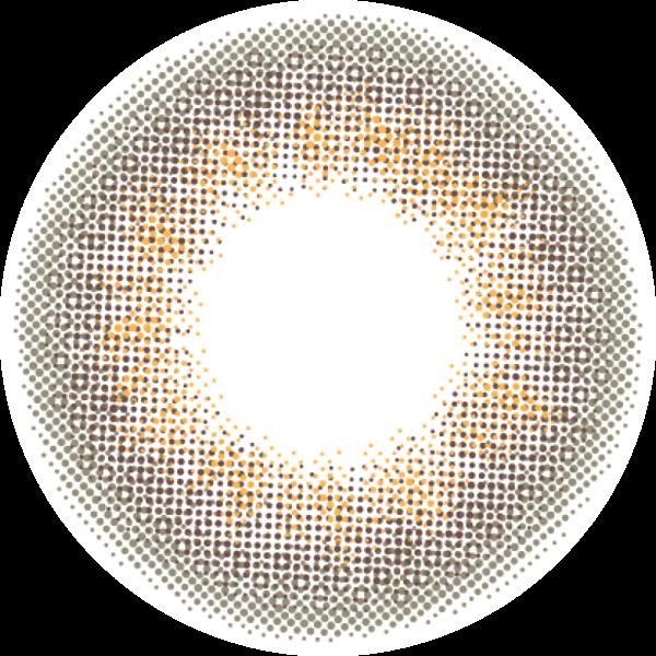 エンジェルカラーのエンジェルカラーヴィンテージワンデー 30枚/箱(度なし) ヴィンテージ グレージュに関する画像2