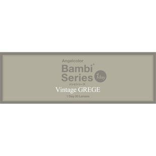 エンジェルカラー エンジェルカラーヴィンテージワンデー 30枚/箱(度なし) ヴィンテージ グレージュ の画像 3