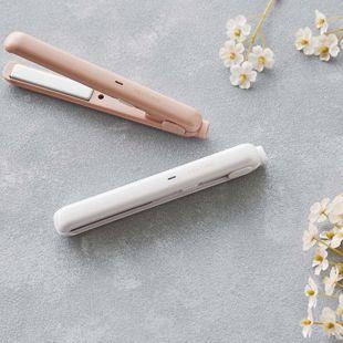 FESTINO USB スタイリング ヘアアイロン SMHB-018-PK ピンク 約60g の画像 2