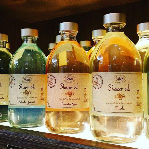 サボンのシャワーオイル レモン バジル 500mlに関する画像2